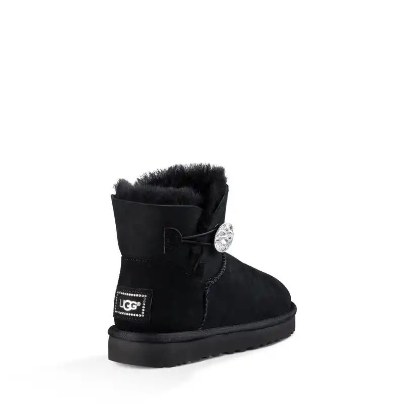UGG MINI BAILEY BUTTON BLING STIVALI CLASSICI Aeffe